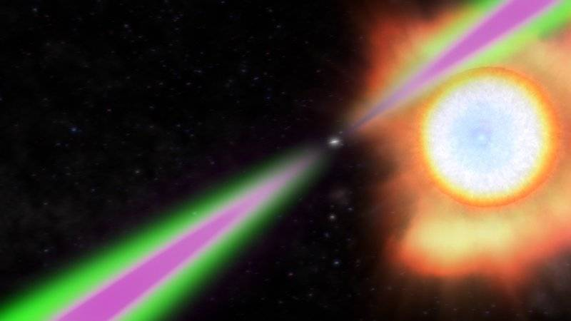 News-Image 13 of: Pulsating gamma rays from neutron star rotating 707 times a second