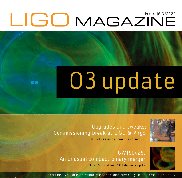 News-Image 4 of: The new LIGO Magazine Issue 16 is out!